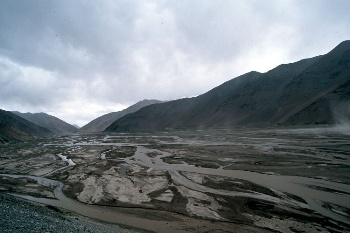 Gigantic riverbed