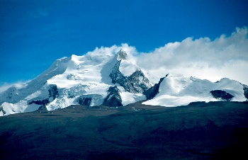 Mt. Shishapangma - one of the 14 8000-meters peaks